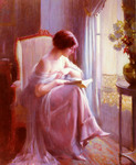 Young Woman Reading by a Window010.JPG